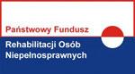 """Projekt """"E-pomocni"""" jest współfinansowany ze środków Państwowego Funduszu Rehabilitacji Osób Niepełnosprawnych."""