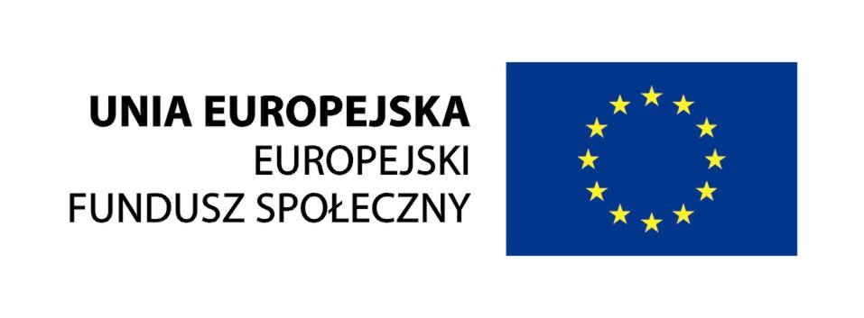 """Projekt """"Radosna Kraina Dziecka"""" jest współfinansowany ze środków Unii Europejskiej w ramach Europejskiego Funduszu Społecznego."""